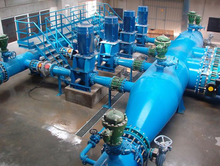 Sistema de bombeo agua
