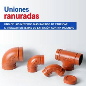 Uniones ranuradas 1